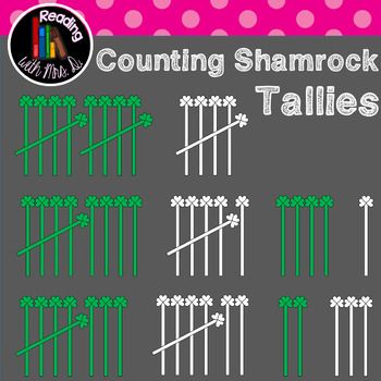 Are you creating resources this Saint Patrick's Day for your classroom or your TPT store?  If you're looking for a simple math clipart, consider these Shamrock tally marks for numbers 1-10.  Both Colour/color and b&w versions are included!  Please use enclosed button and link to my store when using.  ***************************** Before you pass on this product, if it's not quite what you're looking for, this is your chance to make a Custom Request!