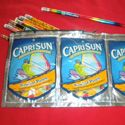 recycled crafts: Pencil Boxes, Back To Schools, Crafts Ideas, Pencil Pouch, Capri Sun, Pencil Cases, Pencil Bags, Pre Mixed, Mixed Drinks