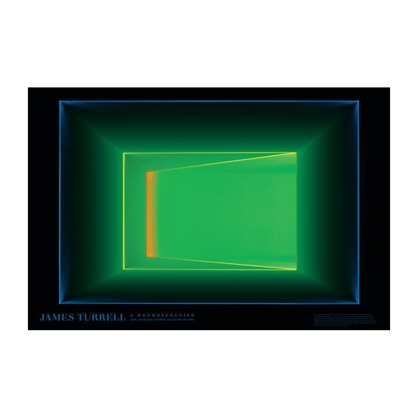 James Turrell: Key Lime Poster