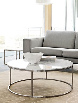 Delightful Shop The Rubik Round Coffee Table, Part Of A Modern Table Collection  Offering A Variety Of Sizes And Shapes Suitable For Living Room, Bedroom,  Entryway And ...