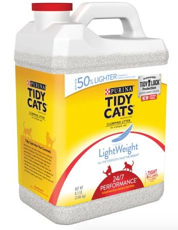 Free coupons for cat food and litter