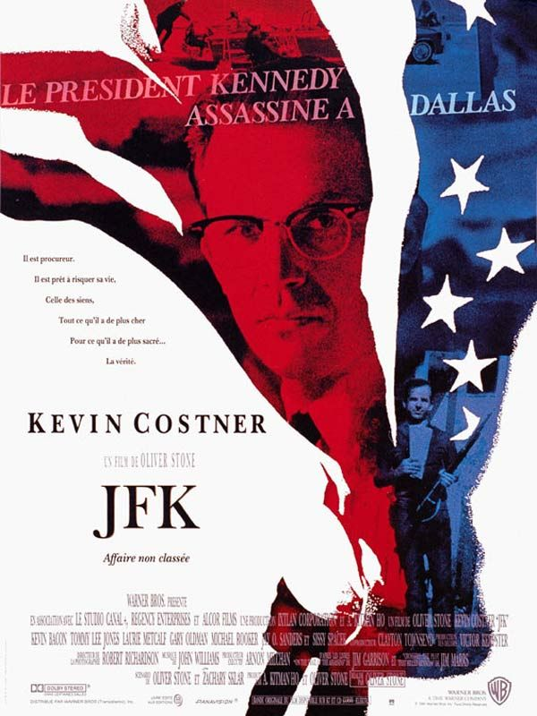 Redécouvrez la bande-annonce de JFK ponctuée des secrets de tournage et d'anecdotes sur ce film. ☞ JFK est un film américain réalisé par Oliver Stone et so