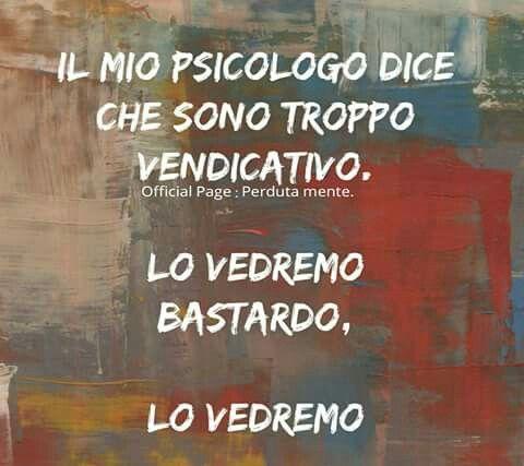 Psicologia vendicativo