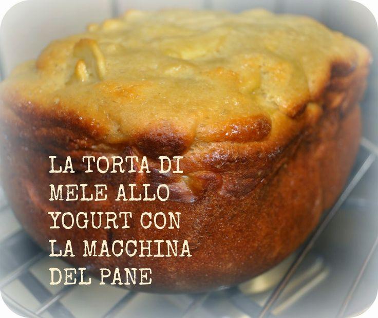 donneinpink magazine: La torta di mele allo yogurt con la macchina del pane