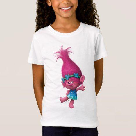 Trolls | Poppy - Queen Poppy T-Shirt #rainbow #kids #clothing