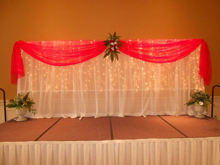 Simple backdrop for a local pageant http for Backdrop decoration ideas
