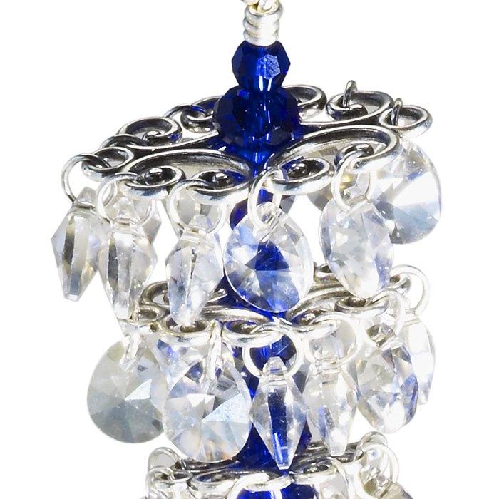 Jewelry Making Supplies Swarovski Crystal Decorative D Rings