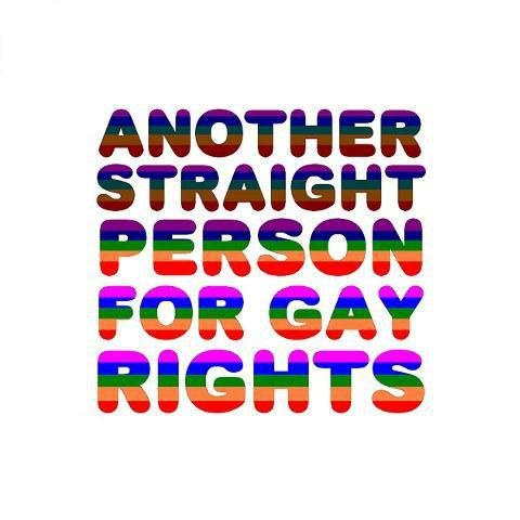 That would be me! And as for V and J as straight as I am I will stand right along beside you defending your rights!
