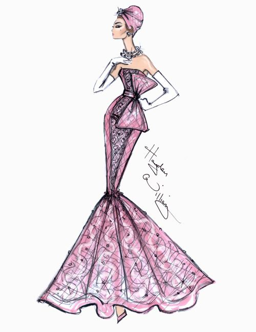 Celebrity evening dresses tumblr drawings
