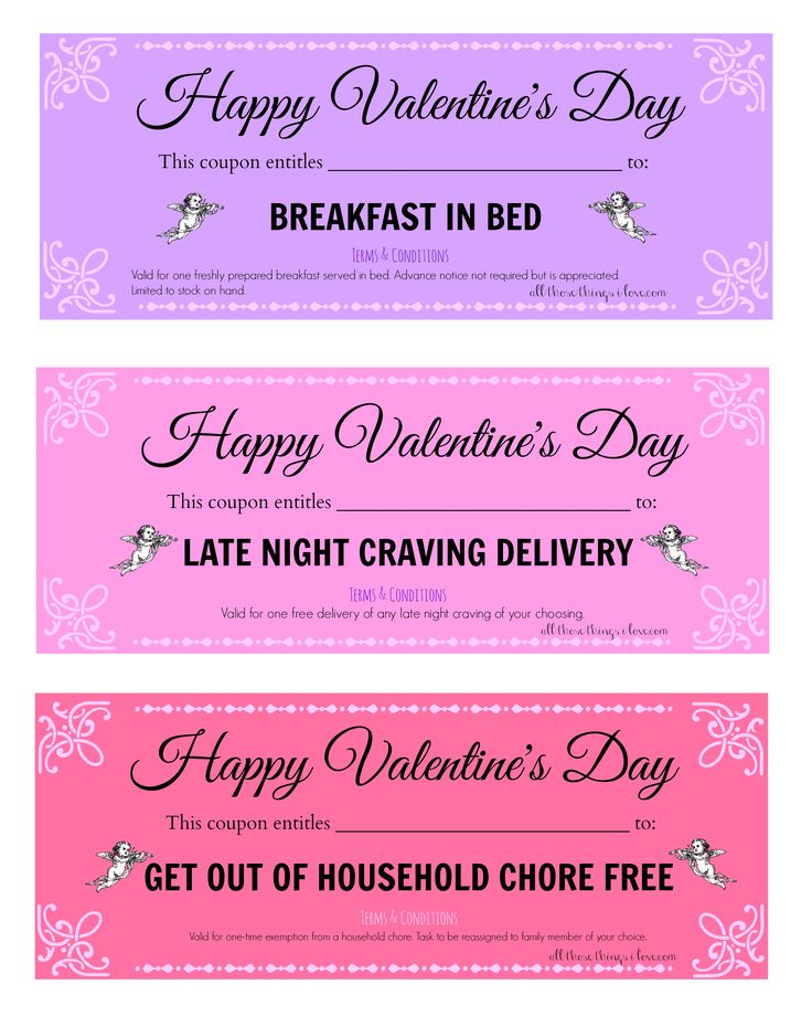 Best 25 Love Coupons Ideas On Pinterest Free Printable Love Coupon