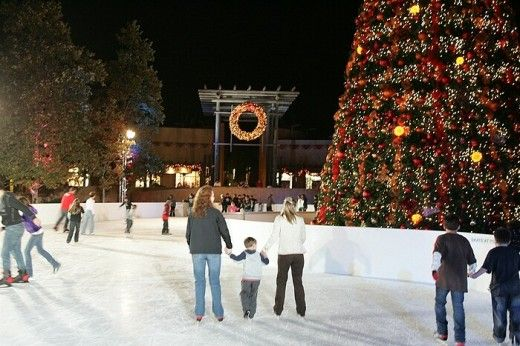 Ice Skating This Winter Under the San Diego Stars