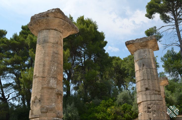 Temple of Hera at Ancient Olympia #passionforgreece #ancientolympia #olympia #greece #TempleofHera