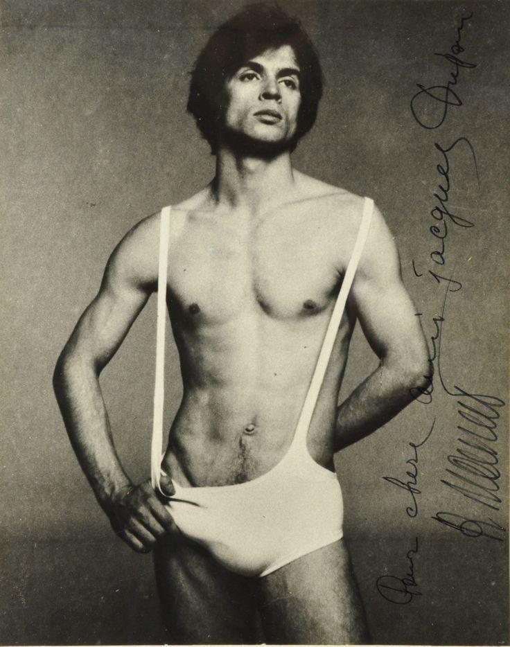Nureyev.   ......um .....quite the outfit here.