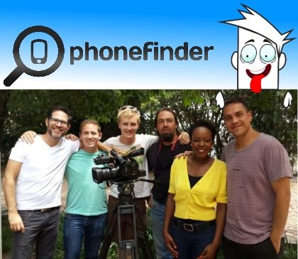 Last week Wednesday (15 January 2014) Phonefinder was lucky enough to be interviewed by the lovely Mabale Moloi for her television show The Tech Report.