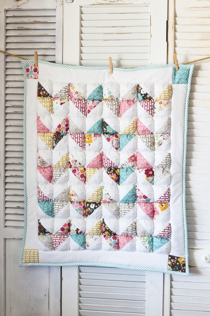 Not seen a puff quilt before but really like the idea...