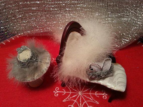 Hat Bag silver elegant moments  home of by LaboratoriodiManu