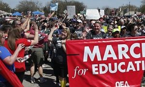 Revealed: Secret rightwing strategy to discredit teacher strikes | Education | The Guardian
