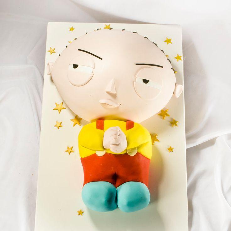 Детский торт на день рождения Стьюи Гриффин.