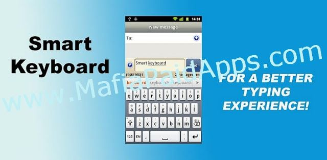 Smart Keyboard PRO v4.14.0 Apk   BabelType (formerly Smart Keyboard Pro) is a fast multitouch keyboard with multi-language support skins voice input T9 and compact mode Smart dictionary custom Auto-Text hard keyboard support calibration and many other appearance and prediction options. Get it now and see by yourself why it is the best rated keyboard app on Google Play! Samsung users: make sure to disable the Optimizer for this app to avoid unexpected issues!  Don't forget to read the FAQ and…