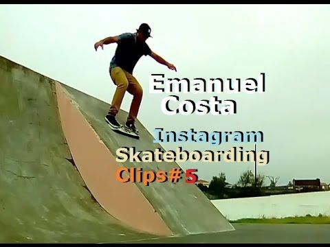 Emanuel Costa - Instagram Skateboarding Clips 5