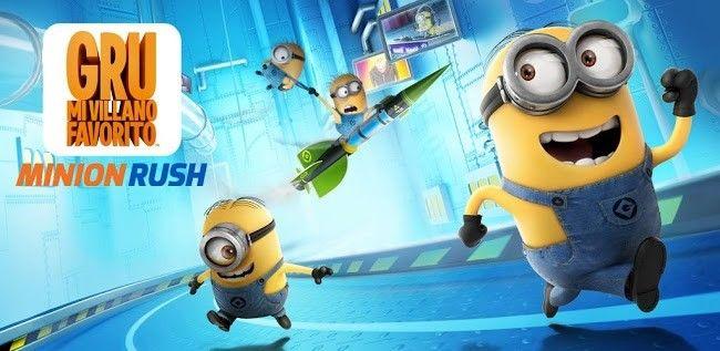 Minion Rush, el juego oficial de 'Gru, Mi Villano Favorito' ya disponible en Google Play http://www.xatakandroid.com/p/94235