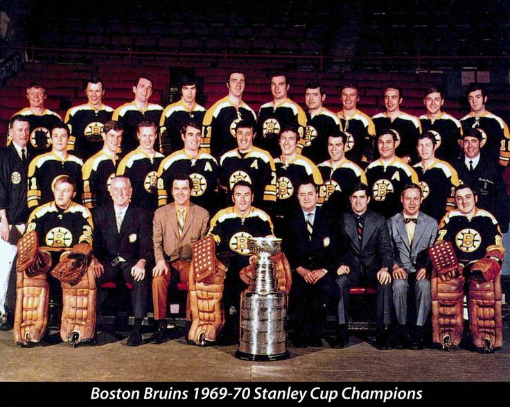1970 Stanley Cup Champions - Boston Bruins