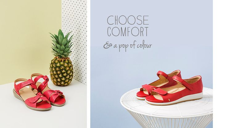 Choose comfort and a pop of colour this summer!