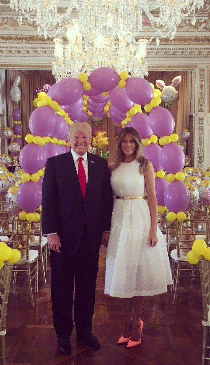 Happy Easter from FLOTUS