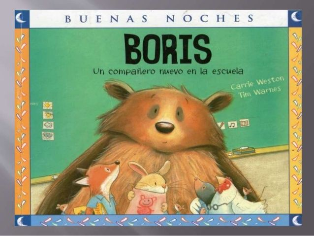 Boris, un compañero nuevo en la escuela