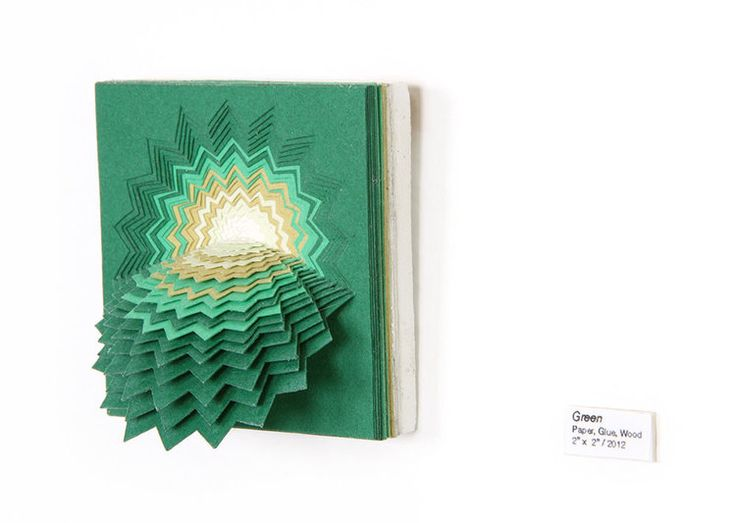 Best Colour Images On Pinterest Animation Colour And Girls - Mesmerising hand crafted paper sculptures jen stark