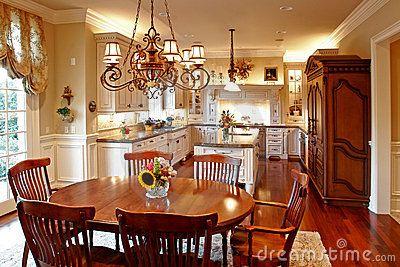 17 beste idee n over amerikaanse keuken op pinterest houten werkbladen houten keuken - Serveren eiland keuken ...