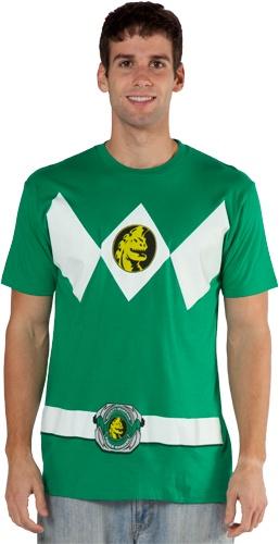 I want. Green Ranger costume shirt