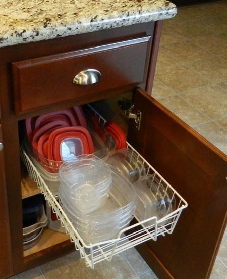 Cool Pull Out We Put In My Tupperware Cupboard This