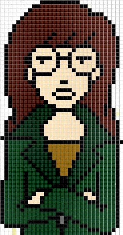 Your Childhood Lives On In Perler Beads: 40 Nerdy 8-Bit Patterns ...