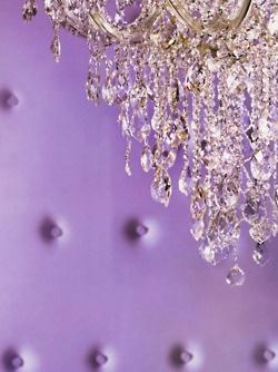lavenderChic Decor, Colors Purple, Purple Room, Dreams Home, Purple Pantone, Purple Crystals Chandeliers, Radiant Orchids, 2014 Pantone, Years 2014