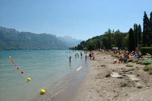 Lac d'Annecy - Activités - Plages