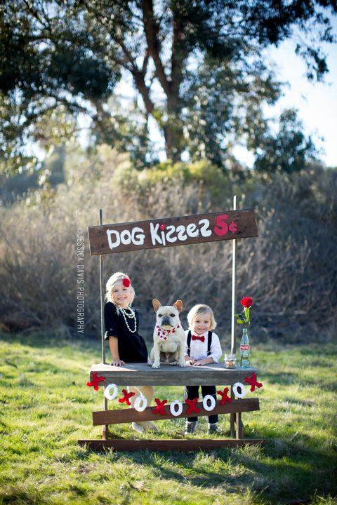 dog kisses photo by Jessica Davis Photography San Diego