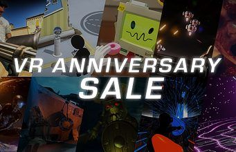 Steam VR Anniversary Sale: Raw Data & Tilt Brush Free-play Deep Discounts on 224 VR Titles