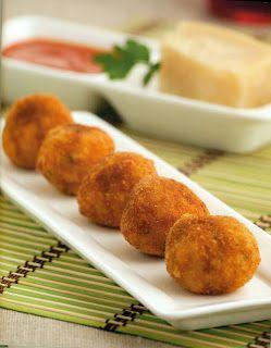 Elisabet Thermomix: Croquetas de arroz con parmesano (Receta Italiana)