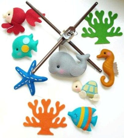 Hey, I found this really awesome Etsy listing at http://www.etsy.com/listing/159215509/musical-baby-mobile-oceanography-under