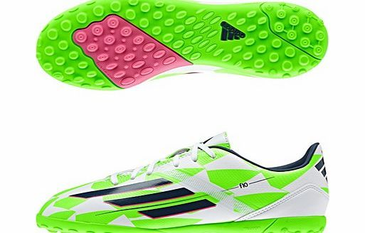 Adidas F10 Astroturf Trainers - Kids White M18322 adidas F10 Astroturf Trainers - Kids White If your child is looking for speed on the field, these adidas F10 Astroturf Kids Trainers are the ideal choice. These astroturf trainers are all about precis http://www.comparestoreprices.co.uk/football-equipment/adidas-f10-astroturf-trainers--kids-white-m18322.asp