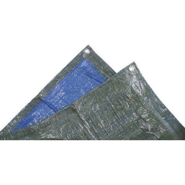 Bache De Protection En Pe Rectangulaire 150 X 600 Cm Bleu Baches De Protection Stere De Bois Et Bache Piscine