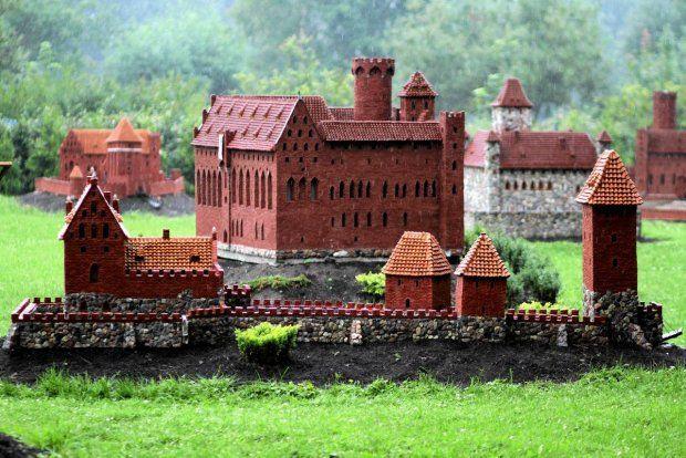 Teutonic Castles Miniature Park in Chełmno