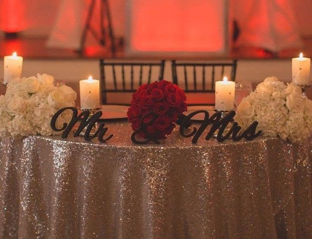 17 Best Ideas About Sweetheart Table On Pinterest