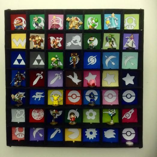 Video Game Room Amiibos