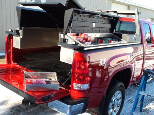 Service Body Tailgate : Mechanics body on a pickup truck by highway products