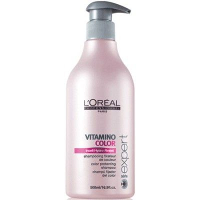 Shampoing protecteur et fixateur de couleur L'Oréal Vitamino Color 500ml