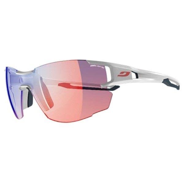 Julbo AEROLITE J496 Asian Fit 3411 Sunglasses (£140) ❤ liked on Polyvore featuring accessories, eyewear, sunglasses, unisex sunglasses, unisex glasses, julbo eyewear, plastic sunglasses and julbo sunglasses