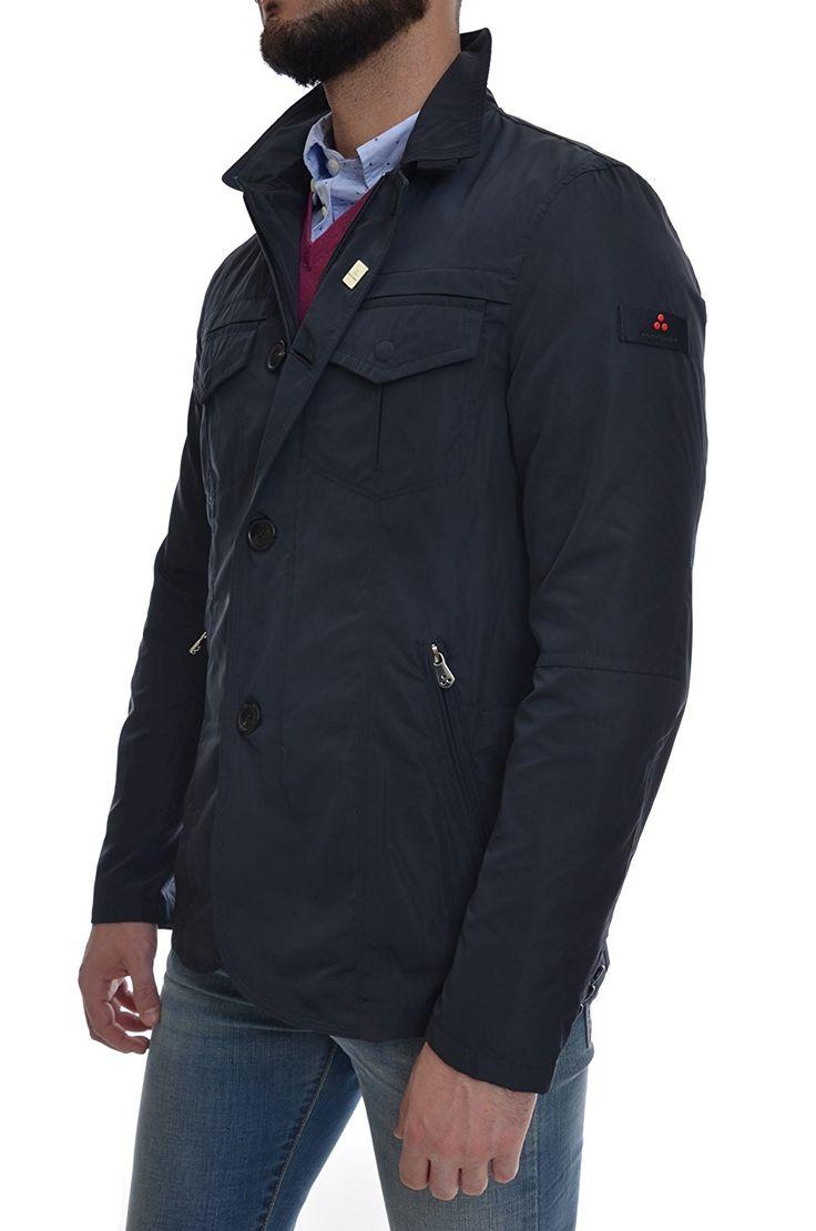 Peuterey - Field jacket Hollywood da Uomo, Blu: Abbigliamento