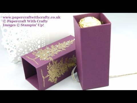 Christmas Tree Chocolate Treat Box, My Crafts and DIY Projects